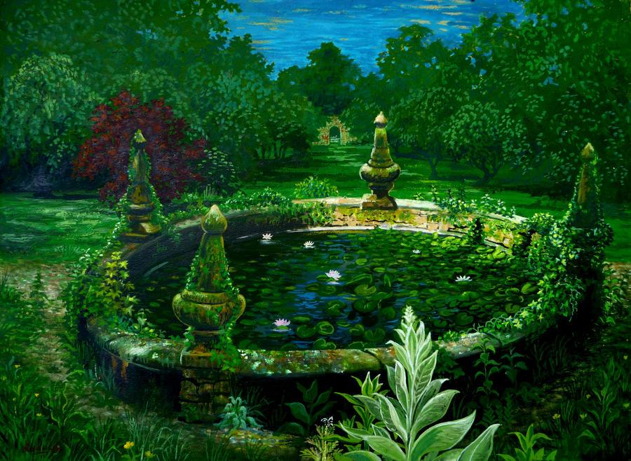 Garden pond by rodulfo on deviantart for Garden pond reddit