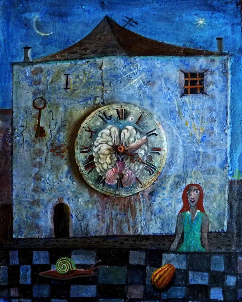 House Of Secrets 40x50cm by rodulfo