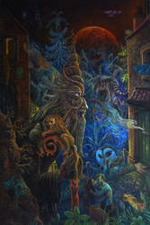 The revenant Oil On Canvas 60x90cm by rodulfo