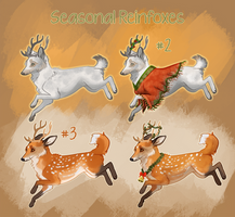 [Feindeer] Reinfox Adopt Auction #2 and #3 CLOSED by Kaa-pora