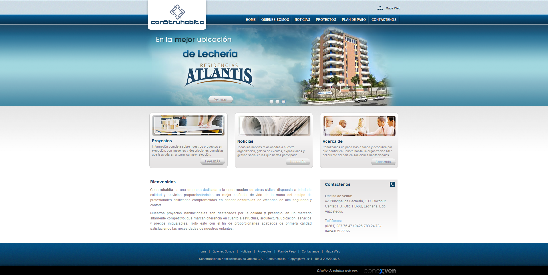 Construction company website home by chekspir on deviantart for Home construction websites