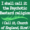 Psychotic Bastard Religion by lilymichelle