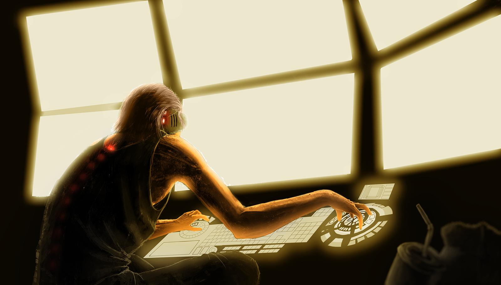 Hacker by Rotaken