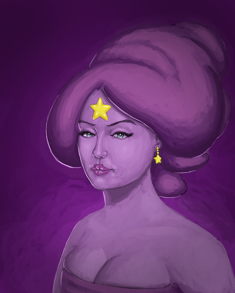 Adventure Time - Lumpy Space Princess by Rotaken