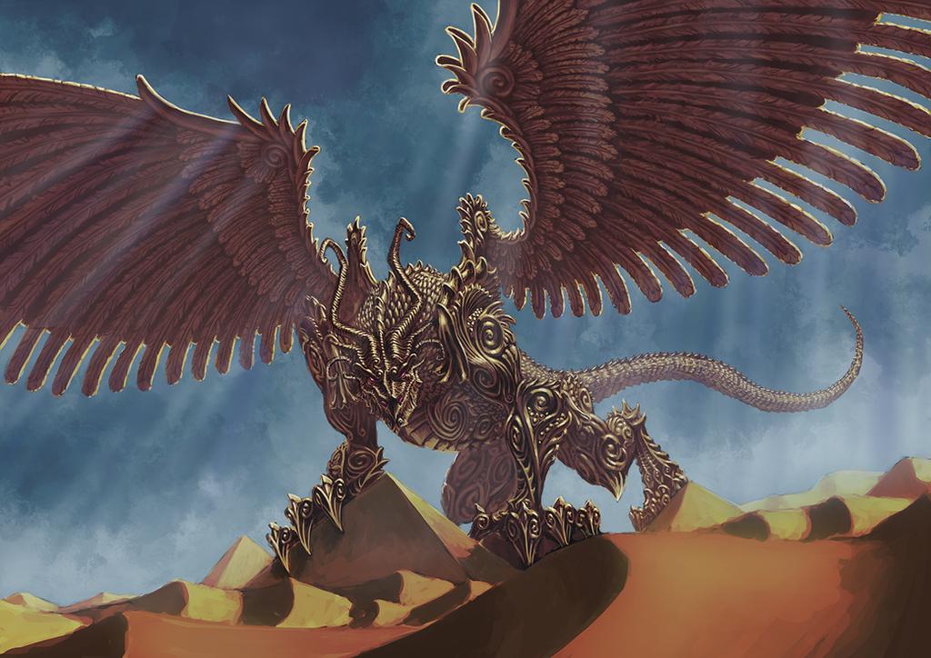 Golden Dragon by Rotaken