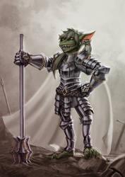 Goblin Paladin