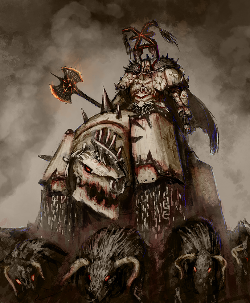 Chaos Lord by Rotaken on DeviantArt