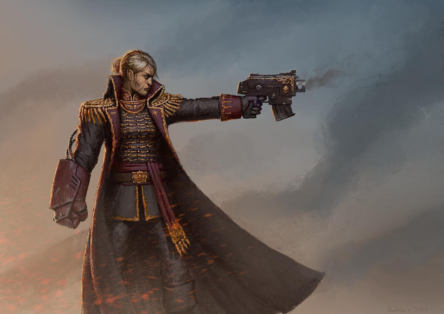 Commissar by Rotaken on DeviantArt