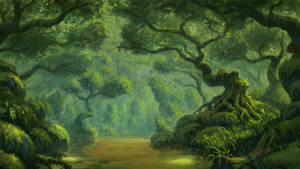 Forest by Rotaken