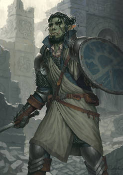 Cain the Lahthanderian War Cleric
