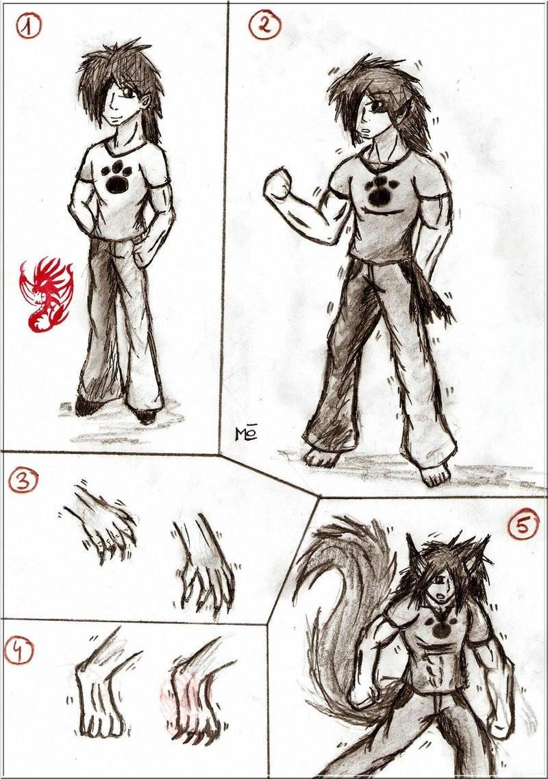 Werewolf Transformation Sequence Werewolf Transformation 1