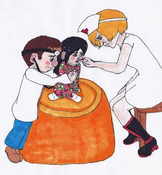 WiR: Doctor Felix and Nurse Calhoun by TwilightKeyblade928