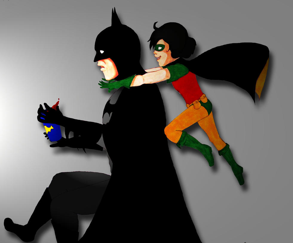 Batman and Robin: Sneak Attack by TwilightKeyblade928