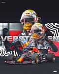 Max Verstappen F1 Poster