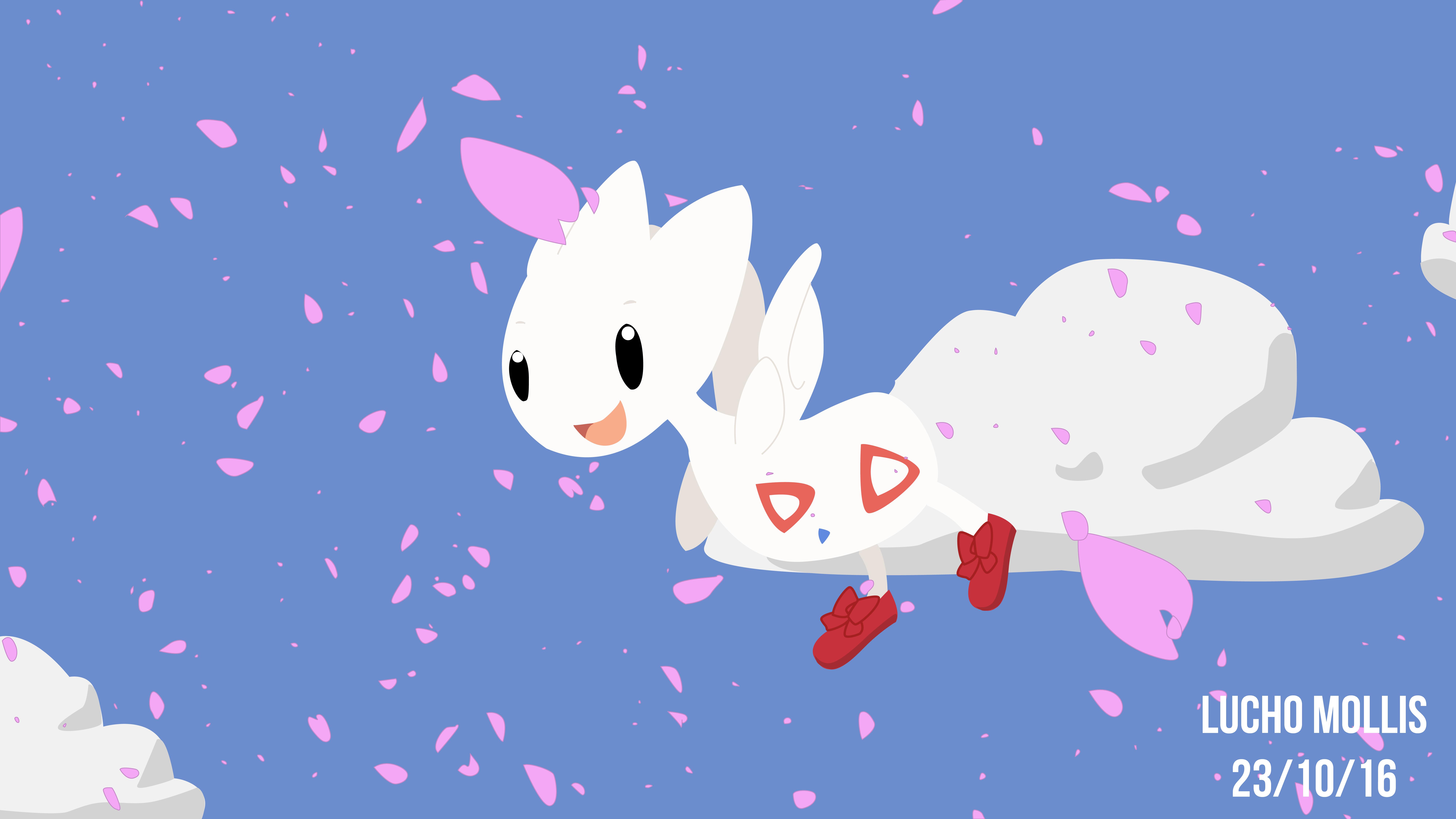 Pokemon Togetic fanart by Luchoxfive