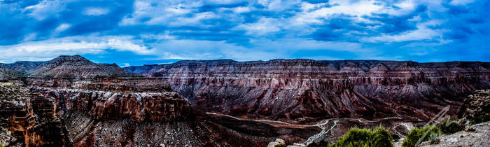 Grand Canyon HDR-Pan by vistonie-dravnos