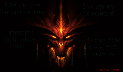 Diablo 3 Siggy by Unholy-Rage