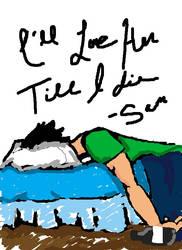 Depressed Night Scribble by Paintedpaws101