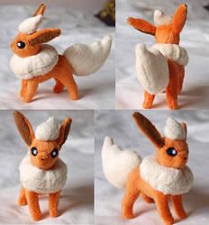 Mini Flareon Plush by PlushOwl