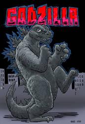 Godzilla by Avarre