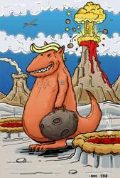 Trump dinosaur by Avarre
