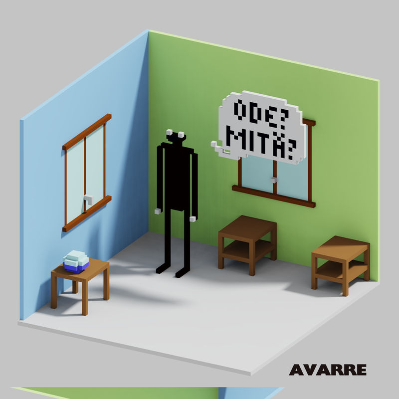 3d Voxel Magicavoxel Ode What by Avarre