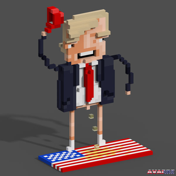 3d Trump by Avarre