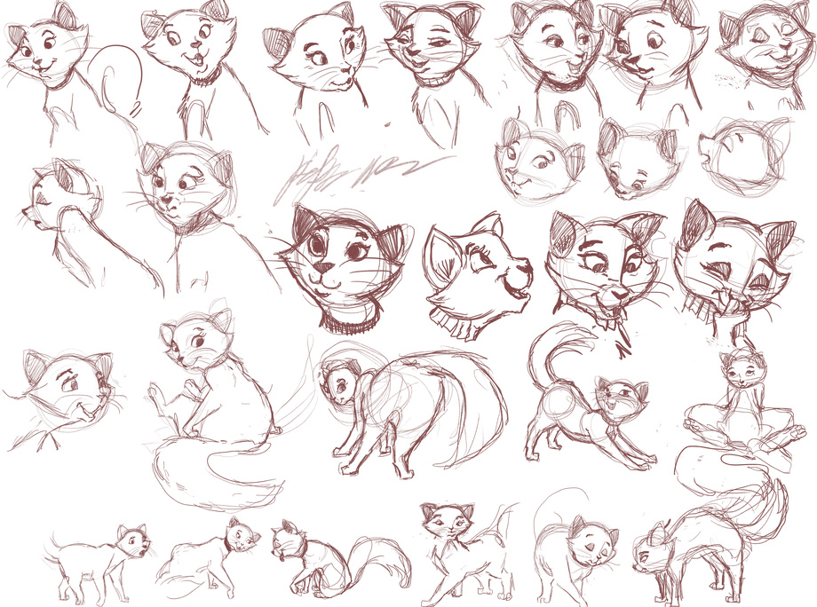 Duchess sketch page by 72-Hours-Remain