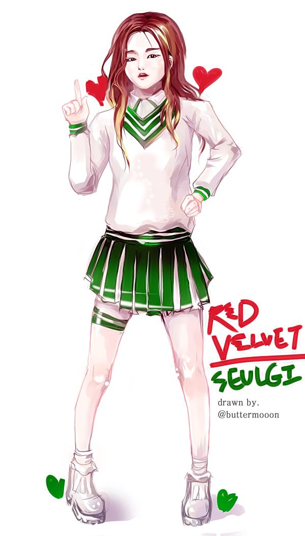 Red Velvet Seulgi by buttermooon