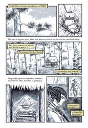 Comic - Yokai Forest, Page 1
