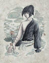 Shiro - Among the Lilies by Wai-Jing
