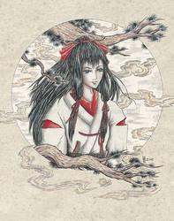 Kotori - Beneath the Pines by Wai-Jing