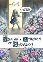 Hanging Garden of Babylon: 1 by Wai-Jing