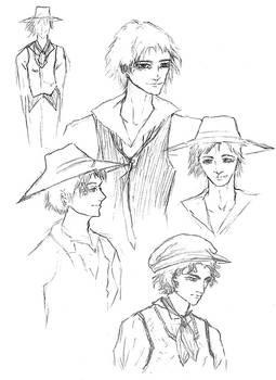 EyeL.Ash - Chara Sketches