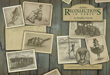 Some Recollections in Verse - Book Cover by Wai-Jing