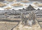 Hitonigiri - Mountain bandits panel by Wai-Jing