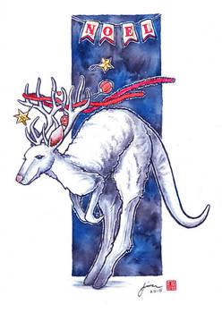 Christmas Rein-Roo