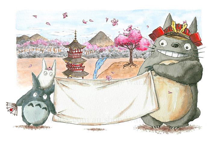 Totoro Takes Japan by Wai-Jing