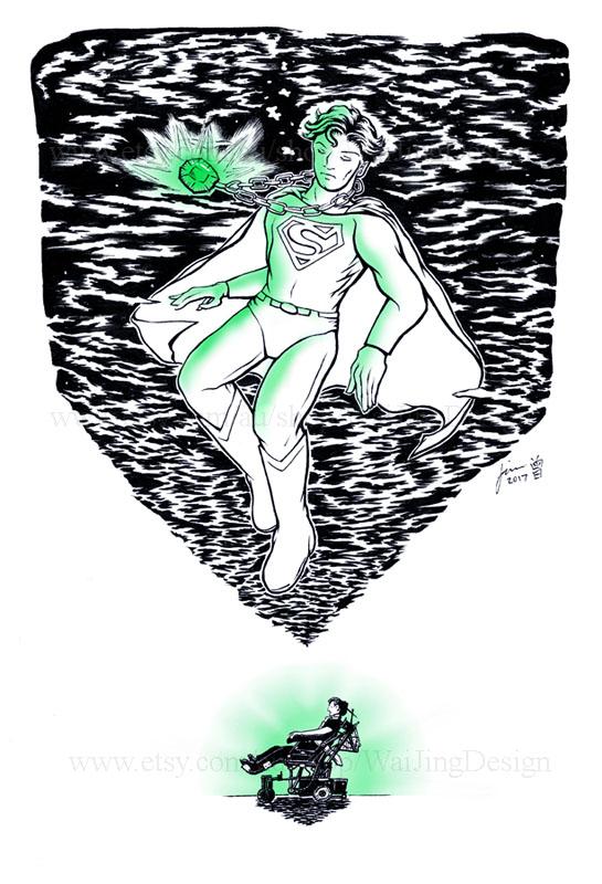 Superman - Kryptonite (Christopher Reeve) by Wai-Jing