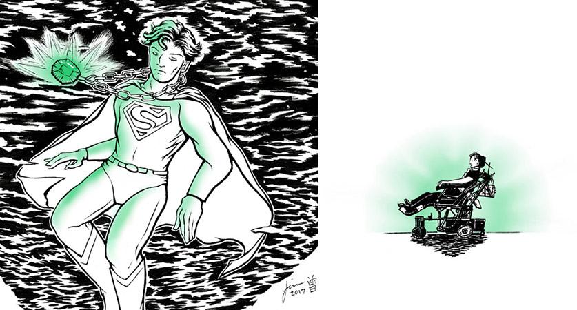 Kryptonite (details) by Wai-Jing