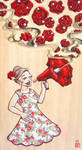 Floral Megaphone by Wai-Jing