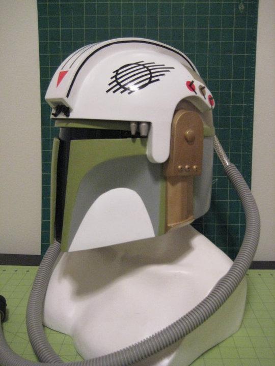 Mandalorian Pilot helmet by lonewolf1183