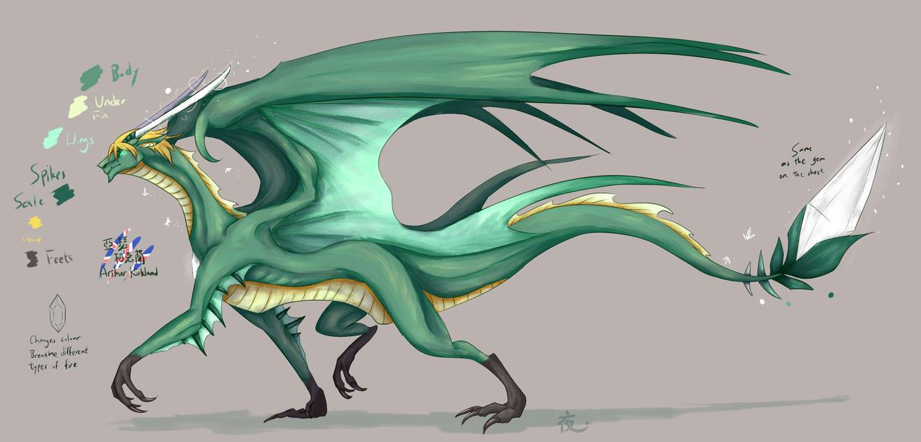 Dragontalia - England by Saya2pt0