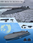 Battle for the Arctic - Submarine Aircraft Carrier