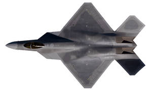 Top view of a F-45, the new US Navy jet fighter