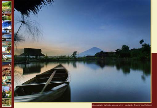 Kampung Sampireun Postcard