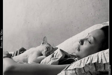 Sleeping with me