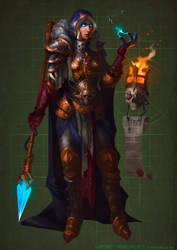 Inquisitor Jaina Proudmoore  Warcraft 40000 by rancore33