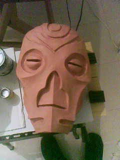 Dragon Priest Mask Handmade by LusitanianDavid