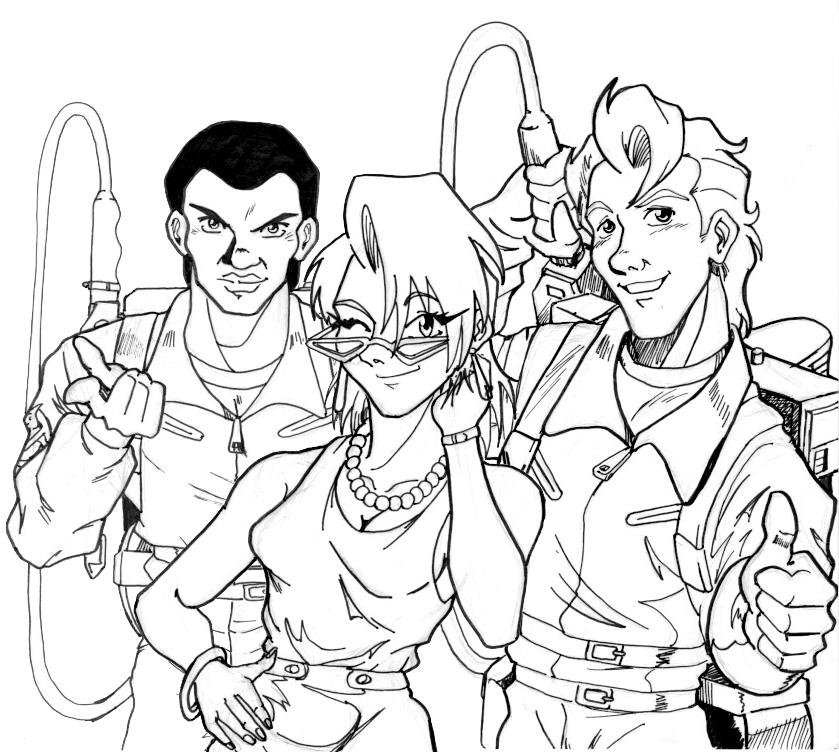 Real Ghostbusters Fan Art 5 by Irie-mangastudios on DeviantArt